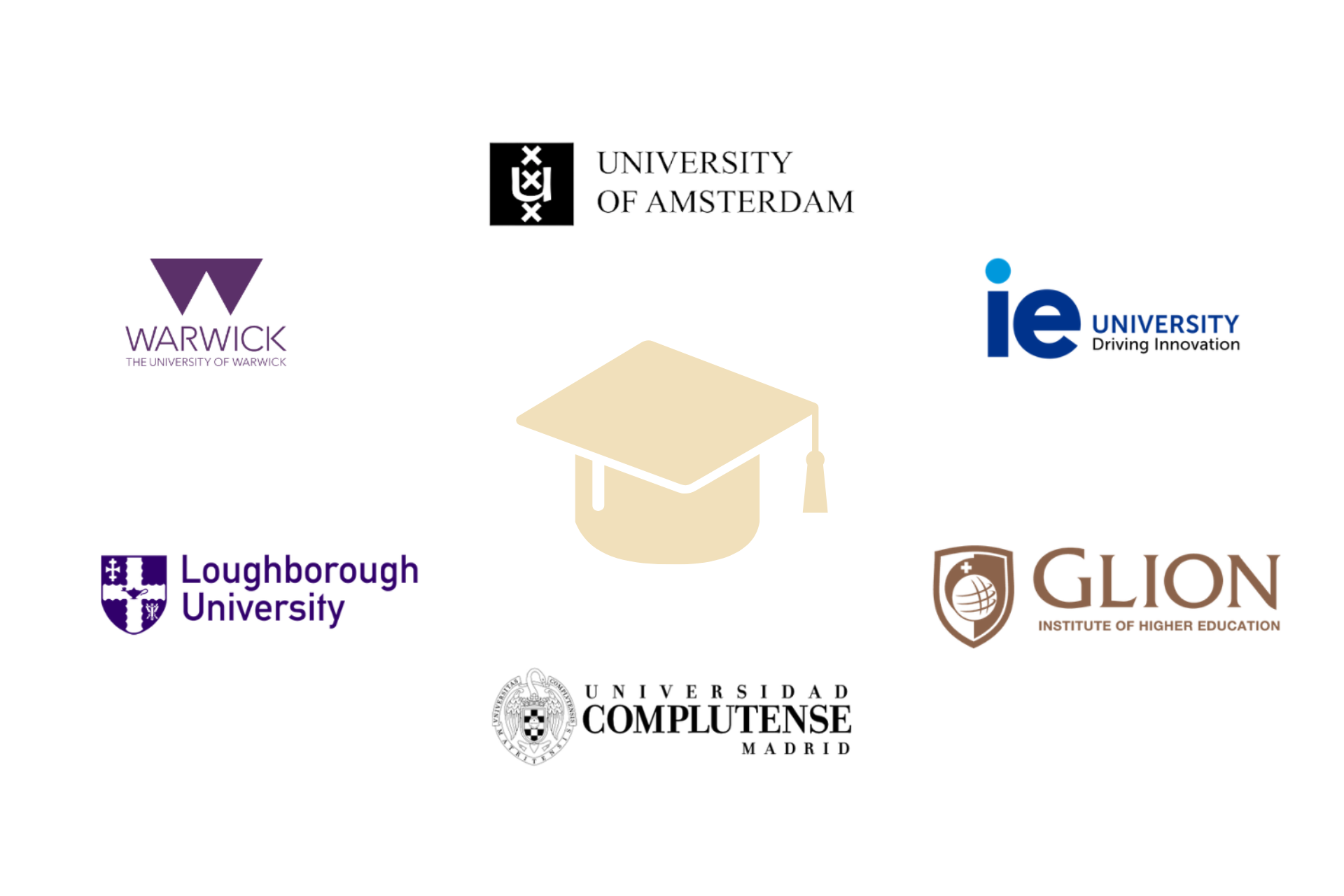 colegio británico en Madrid - logos universidades